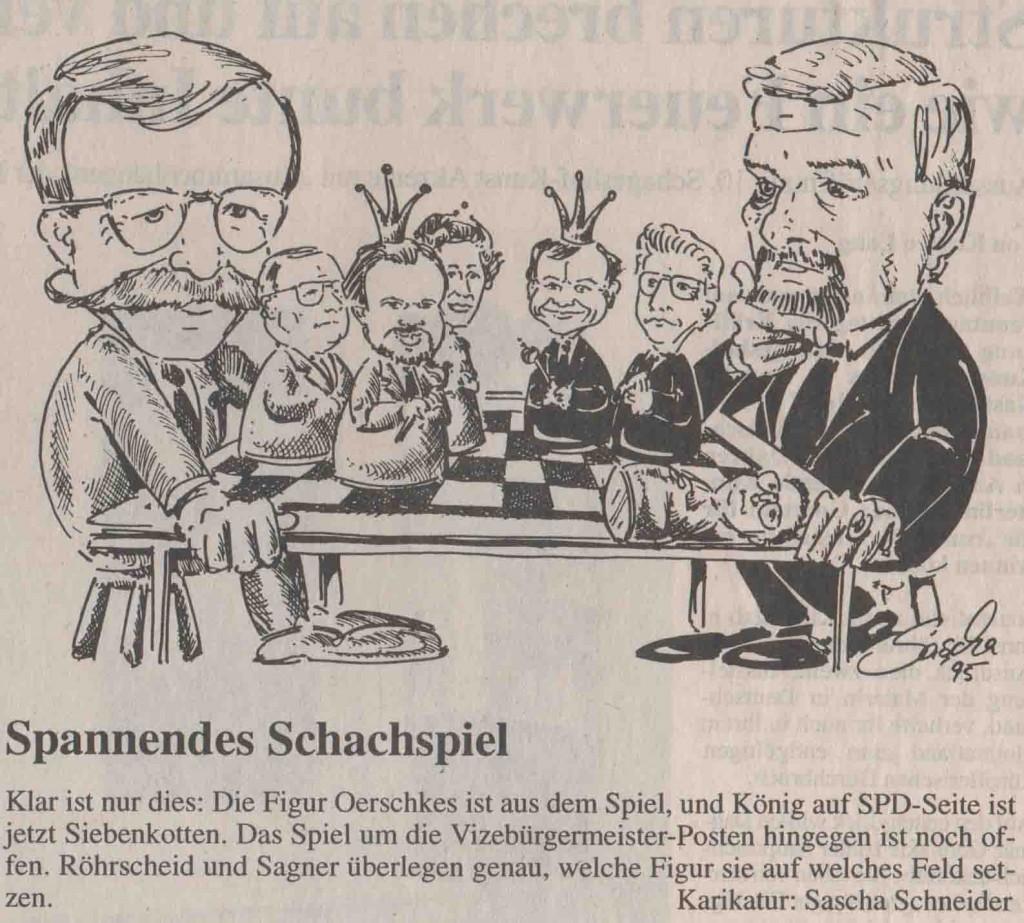 Karikatur_Spannendes_Schachspiel_1995