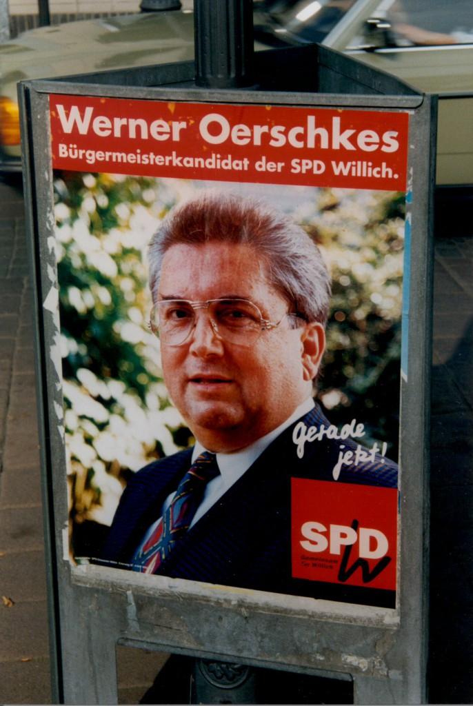 Wahlplakat 1994