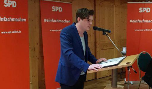 SPD verabschiedet Dietmar Winkels und wählt neuen Vorstand